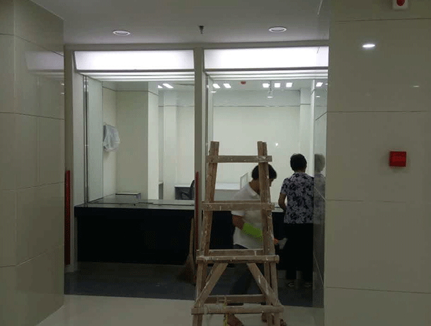 中国银行莲前支行装修工程完工
