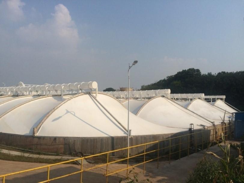 污水厂异味控制技术工程实例