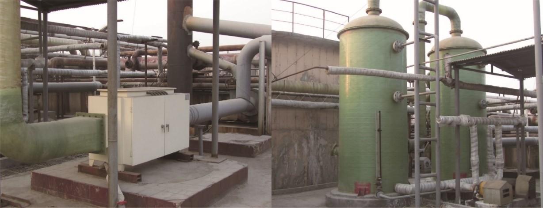 污水厂异味控制工艺技术工程实例
