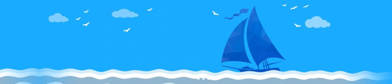 扬帆奥运圆形剪纸图片